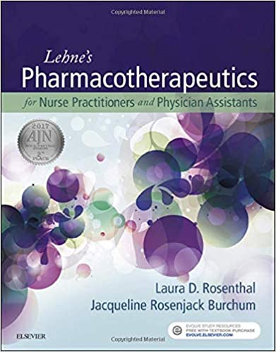Lehne's Pharmacotherapeutics for Advanced Practice Providers 1st Edition